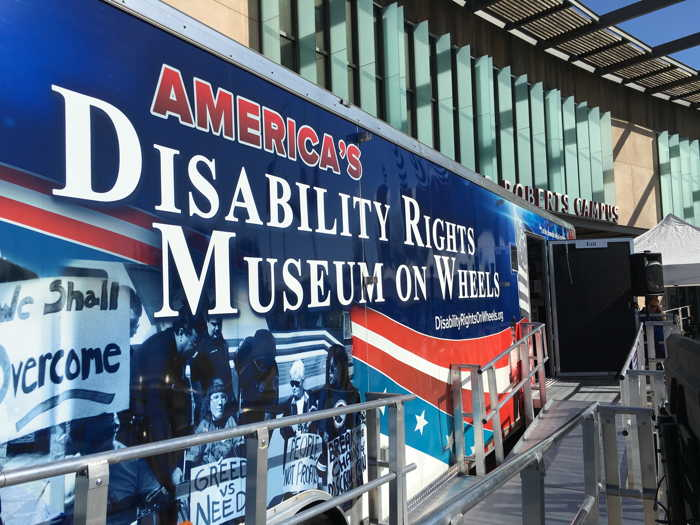 The Disability Rights Museum at the ERC