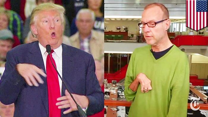 Trump and Kovaleski