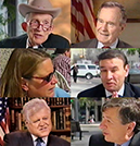 Justin Dart, George Bush, Pat Wright, Ralph Neas, Ted Kennedy and John Wodatch