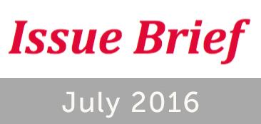 Issue Brief July 2016