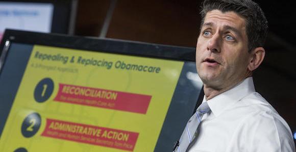 Paul Ryan with chart