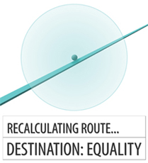 Recalculating route. Destination: Equality