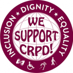 CRPD Sticker