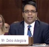 Debo Adegbile at the Senate hearing