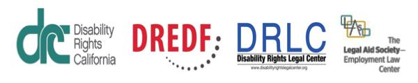 DRC, DREDF, DRLC and Legal aid society