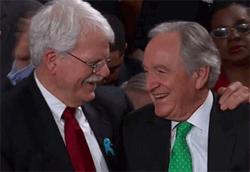 Senator Tom Harkin and Representative George Miller