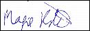 Signature of Maggie Roberts
