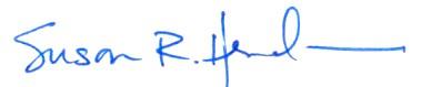 Susan Henderson's signature