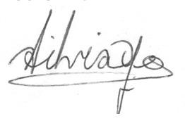The signature of Silvia Yee